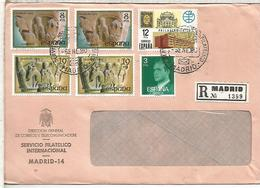 MADRID CC CERTIFICADA MAT SERVICIO FILATELICO SELLOS NAVIDAD 1979 - 1931-Hoy: 2ª República - ... Juan Carlos I