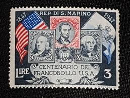 SAN MARINIO 1947 - Unused Stamps