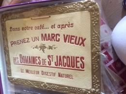 Carton Publicitaire DesDomaines De Saint Jacques - Pubblicitari