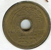 Japon Japan 5 Yen An 60 ( 1985 ) KM 72a - Japon