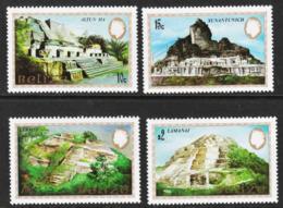 Belize - Scott #680-83 MNH (3) - Mayan Monuments - Belize (1973-...)