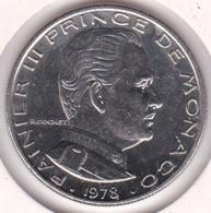 MONACO. 1 FRANC 1978 RAINIER III - 1960-2001 Nouveaux Francs