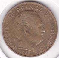 MONACO. 20 CENTIMES 1962  RAINIER III - Monaco