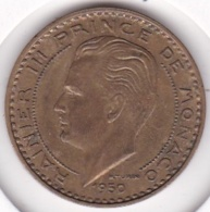 MONACO. 20 FRANCS 1950 . RAINIER III - Mónaco