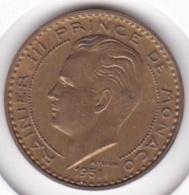 MONACO. 20 FRANCS 1951 . RAINIER III - Mónaco