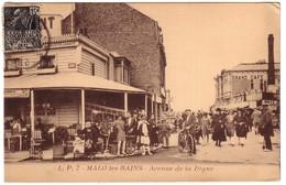 MALO LES BAINS - Avenue De La Digue - Malo Les Bains