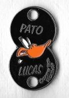 Jeton De Caddie  Double  Warner  Bros  SEDESMA  LUCAS, PATO  Avec  Animal  Canard  DAFFY  DUCK  Verso  1 € Et 50 Cts € - Einkaufswagen-Chips (EKW)
