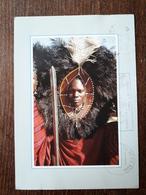 L21/740 Tanzanie. Maasai Moran . ( Timbre Au Dos ) - Tanzanía