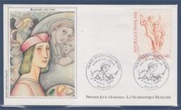 = Vénus Et Psyché Oeuvre De Raphael Enveloppe 1er Jour Paris 9.4.83 N°2264 Série Artistique - 1980-1989