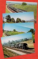 CPM 63 Puy-de-Dôme - Environs De RANDAN (Lot De 5) Locomotive Train - France