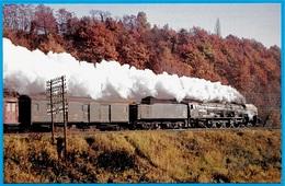 CPM 03 Vers VICHY - Locomotive (à Vapeur) 241 P Avec Tender En Tête Du Train Paris-Langeac - Vichy