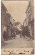 LAUZERTE - Rue Du Château ( Carte Photo ) - Lauzerte