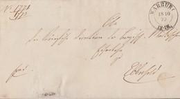Preussen Brief K2 Warburg 18.10.70 Gel. Nach Elberfeld - Preussen