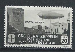 Egée YT PA 27 X / MH Zeppelin Dirigeable - Egée