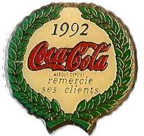 C40 - COCA COLA REMERCIE SES CLIENTS - Verso : SM - Coca-Cola