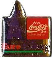 C69 - EURODISNEY 12 AVRIL 1992 - Verso : SM - Coca-Cola