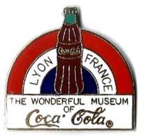 C70 - LYON FRANCE - THE WONDERFUL MUSEUM OF COCA COLA - Verso : SM - Coca-Cola