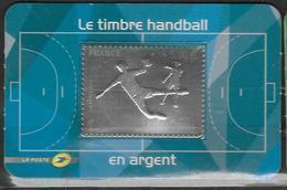 France 2012 Timbre Adhésif N° 738 Neuf Handball En Argent à La Faciale - France