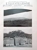 L'illustrazione Italiana 28 Novembre 1915 WW1 Gorizia Forte Hensel Malborghetto - Guerra 1914-18