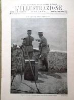 L'illustrazione Italiana 5 Dicembre 1915 WW1 Gorizia Capuana Lord Kitchener Lana - Guerra 1914-18