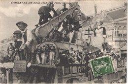 FR06 NICE - Le Carnaval - Défilé De Chars Géants - 1913 - Petite Chocolatière - Animée - Belle - Carnaval