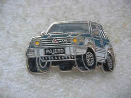 Pin's Ballard D'un Pajero V6 De Chez MITSUBISHI - Mitsubishi
