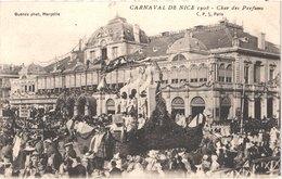 FR06 NICE - Le Carnaval - Défilé De Chars Géants - 1908 - Char Des Parfums - Animée - Belle - Carnaval