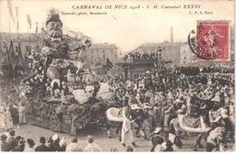 FR06 NICE - Le Carnaval - Défilé De Chars Géants - SM Carnaval - Animée - Belle - Carnaval