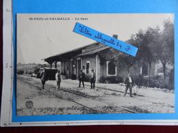 ST-PAUL-et-VALMALLE - La Gare (Hérault) Edition Fabre Bauer Marchet Et Cie Dijon - France