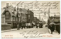 WEST CROYDON : LONDON ROAD - TRAM / ADDRESS - PARIS, RUE DE SEVRES - London Suburbs