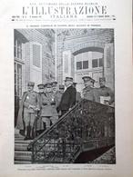 L'illustrazione Italiana 19 Dicembre 1915 WW1 Consiglio Alleati Tofano Kitchener - Guerra 1914-18
