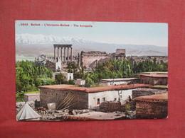 Balbek The Acropolis    Ref 3430 - Syria