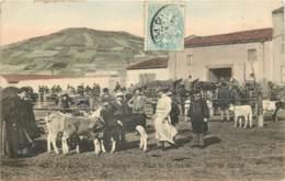63 - MONTFERRAND - Jour De Marché Place De La Rodade En 1905 - Belle Carte Animée En Couleur - Clermont Ferrand