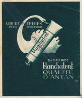 Ancienne Publicité (1942) : BLANCHEDENT, Dentifrice, Qualité D'antan, Albert Frères, Paris, Fondé En 1842... - Publicités