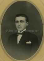 Portrait D'un Homme F. Courier C.1910 Par Simonneau à Fontenay-le-Comte Vendée 85 - Identified Persons