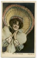 MISS MARIE STUDHOLME - HOOD / HAND-COLOURED & GLITTER - Theatre