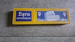 Boite Ancienne 10 Crayons Papier Lyra Campidoglio 2132 Medio  Papeterie Bureau Italie Colysée Rome - Other Collections