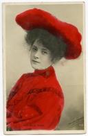MISS BILLIE BURKE (HAND COLOURED) / ADDRESS - WETHERBY, MAIN STREET - Theatre