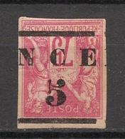 Nouvelle Calédonie - 1883-84 - N°Yv. 7b - 5 Sur 75c Rose - Surcharge Renversée - Neuf * / MH VF - Nouvelle-Calédonie