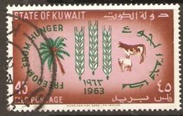 Kuwait  1963  SG   187  F.F.H.  Fine Used - Koweït