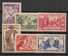 Nouvelle Calédonie - 1937 - N°Yv. 166 à 171 - Série Complète - Expo Internationale - Neuf Luxe ** / MNH / Postfrisch - Neukaledonien