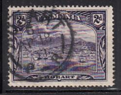 Tasmania 1899-1900 Used Sc 88 2p Hobart CDS Hobart AP 18 01 - Oblitérés