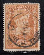 Tasmania 1899-1900 Used Sc 91 4p Russell Falls - Oblitérés