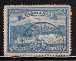 Tasmania 1899-1900 Used Sc 92 5p Mount Gould, Lake St. Clair CDS Hobart SE 26 1901 - Oblitérés