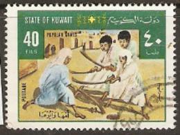 Kuwait  1977   SG  715  Popular Games Hockey   Fine Used - Koeweit