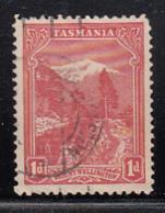 Tasmania 1905-1908 Used Sc 103 1p Mt Wellington - Oblitérés