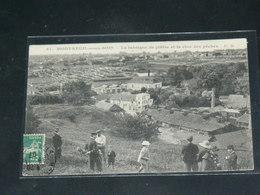 MONTREUIL SOUS BOIS     / 1910 /  VUE USINE DE PLATRE  ....   / CIRC /  EDITION - Montreuil
