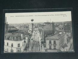 MONTREUIL SOUS BOIS     / 1910 /   VUE  RUE ANIMEE    ....   / CIRC /  EDITION - Montreuil