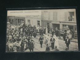 MONTREUIL SOUS BOIS     / 1910 /   VUE  RUE ANIMEE LA ROSIERE   ....   / CIRC /  EDITION - Montreuil