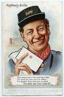 ADVERTISING : QUAKER OATS SMILES - POSTMAN'S SMILE / ADDRESS - GATESHEAD, COOPER STREET (POSTMEN) - Advertising